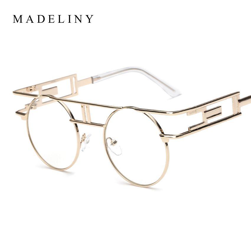 MADELINY Fashion New Vintage Punk Sunglasses Women Brand Designer ...