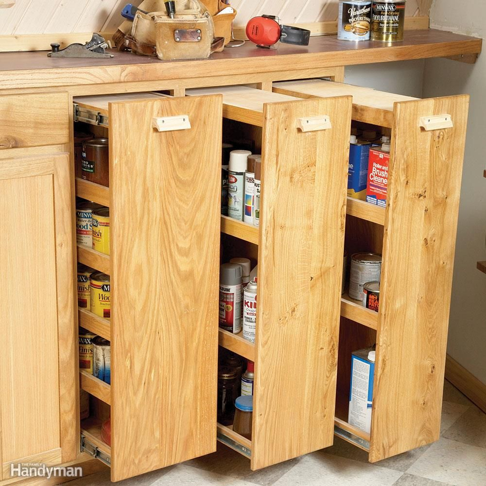 7 Roll-Out Cabinet Drawers You Can Build Yourself | Drawers ...