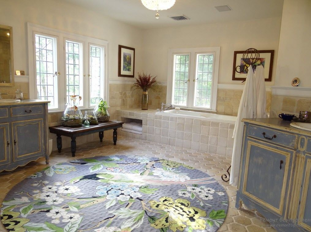 Large Bathroom Rug