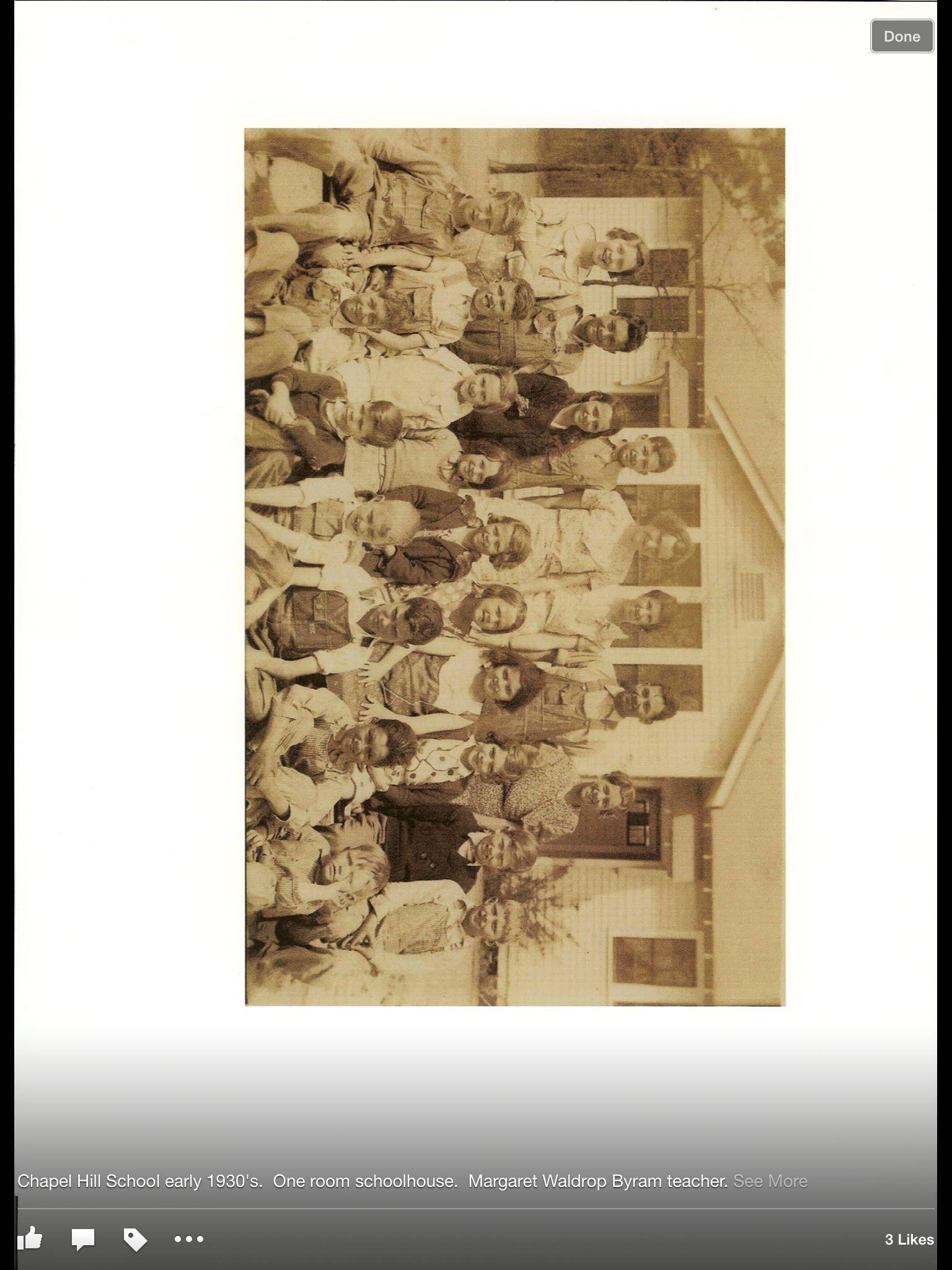 Chapel Hill School One Room Schoolhouse Early 1930s Margaret Waldrop Byram Teacher Christi Smith Baldwin Via Every Now And Douglasville Schools First Decor