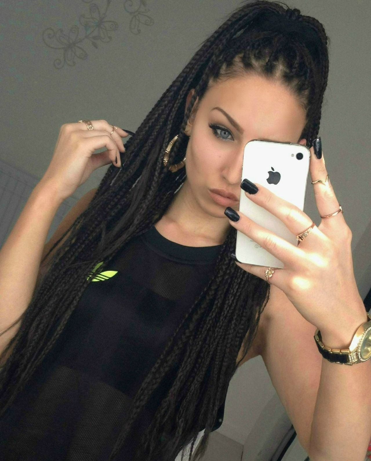 Box Braids Tumblr Hair Styles White Girl Braids Braided Hairstyles