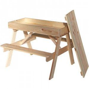 Chaise Et Table De Jardin Colorés Pour Les Enfants A Faire