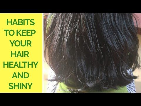 #hair #growthtips #healthyhair Habits To Keep Your Hair Healthy and Shiny|Malayalam(eng.sub) Awesome - YouTube