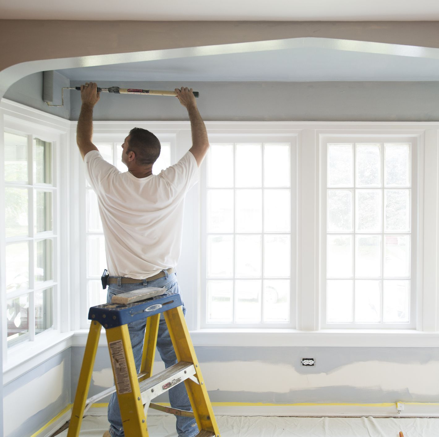This Is The Only Guide You Ll Ever Need For Painting Your Ceilings Painting Ceilings Tips Painted Ceiling Home Improvement Loans