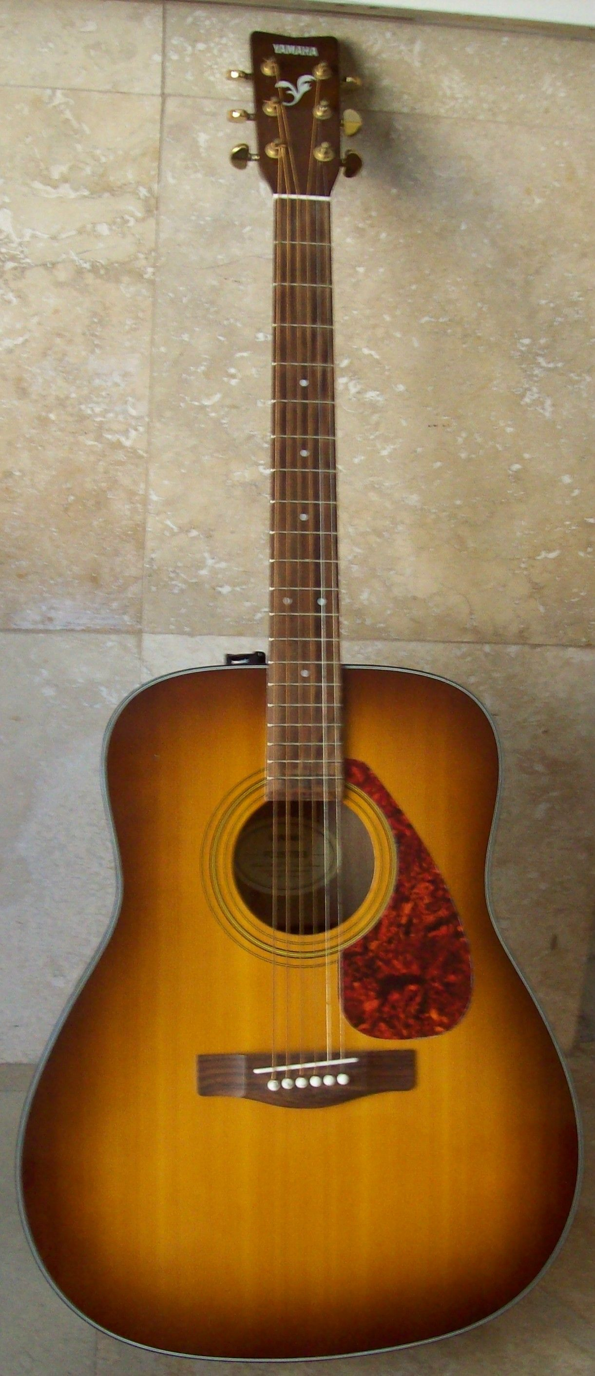 yamaha f335. vintage yamaha f335 tbs tobacco brown sunburst acoustic guitar