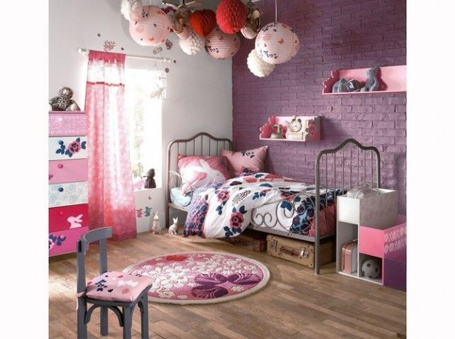 1000 images about chambre filles on pinterest coins belle and pine furniture - Chambre Mauve Fille