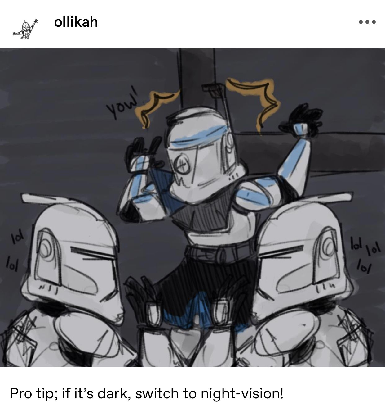 Pin By Nightstar453 On Star Wars But Mostly Clones Star Wars Memes Star Wars Art Star Wars Fandom