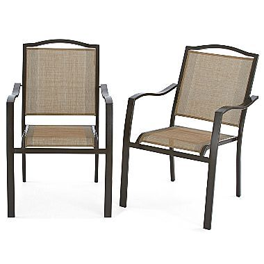 Sander's Bay Patio Sling Chair - jcpenney $18