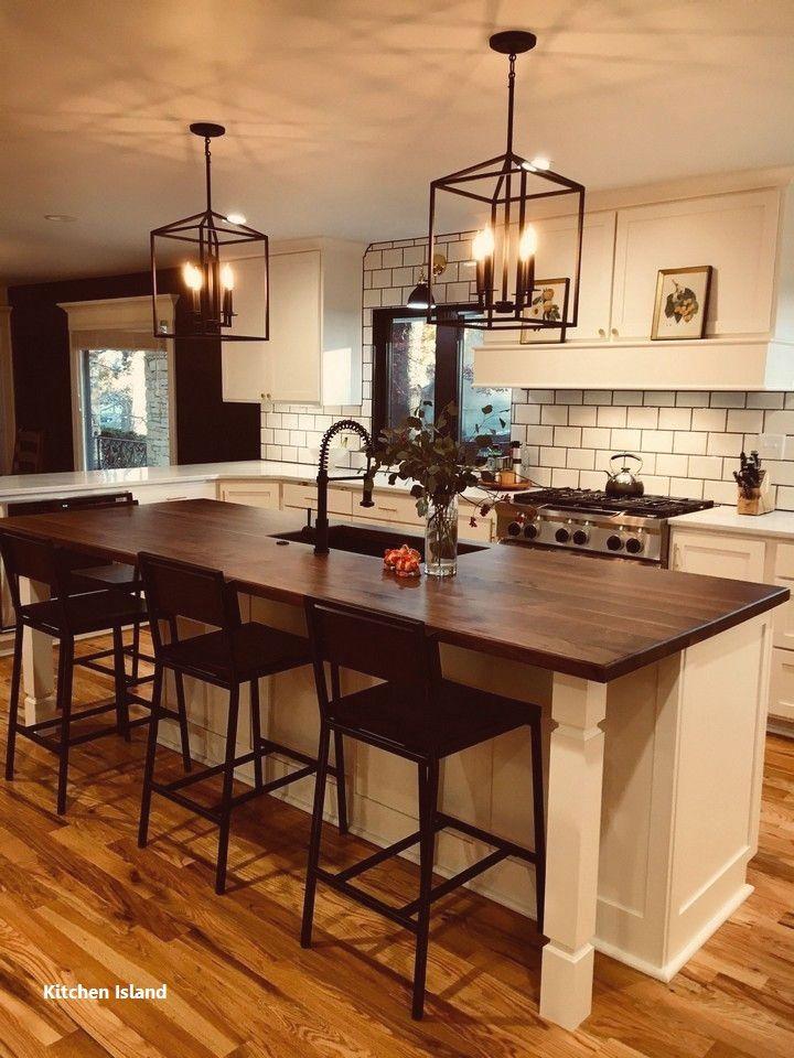 Kitchen Island Ideas Farmhouse Farmhouse Kitchen Countertops Kitchen Design Countertops Kitchen Island Design