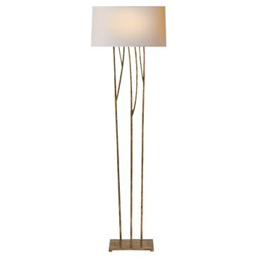 Check out this item at one kings lane aspen floor lamp gilded iron