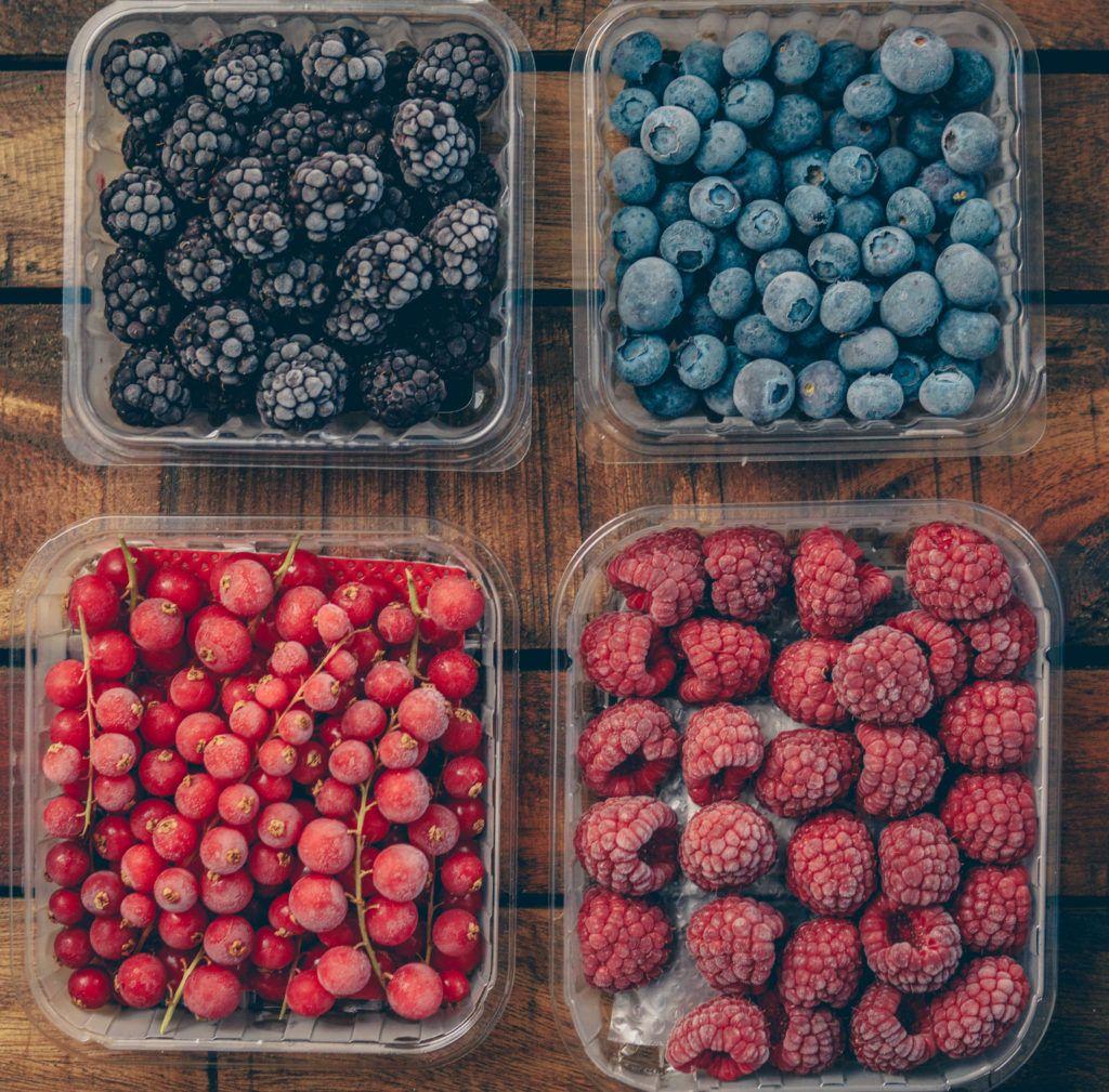 How To Achieve The Frosty Berries Look / Frozen Berries