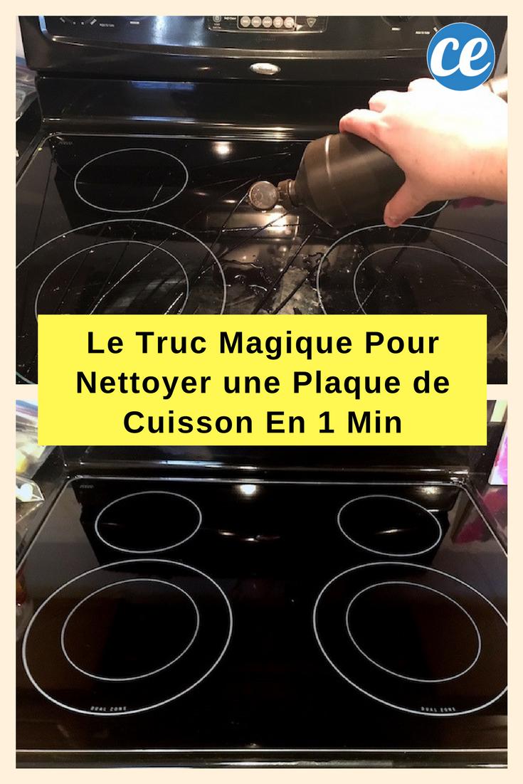 Produit Pour Nettoyer Vitroceramique comment faire briller votre plaque de cuisson en 2 min