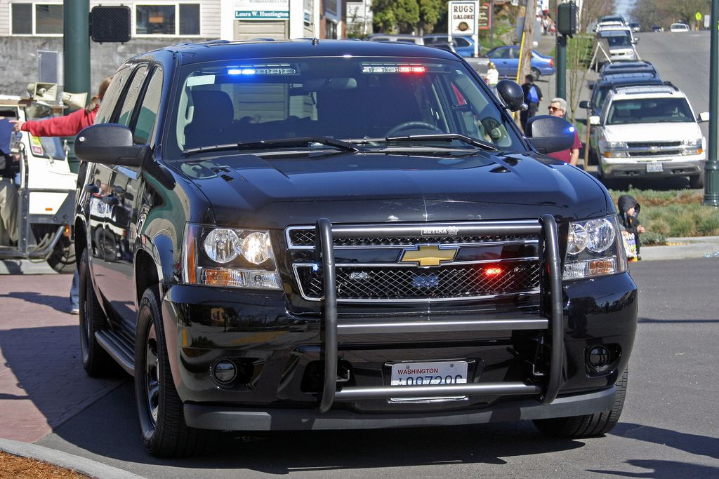 Snohomish Police Department Unmarked Chevrolet Tahoe Ppv During