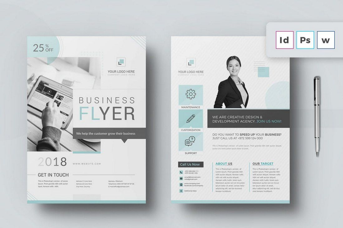 30 Best Microsoft Word Brochure Templates Creative Touchs For Free Business Flyer Template Free Brochure Template Brochure Template Business Flyer Templates Free microsoft word flyer templates