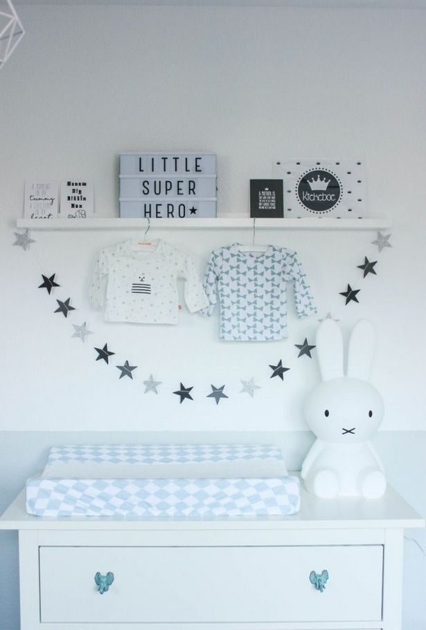 Wanddeko babyzimmer junge