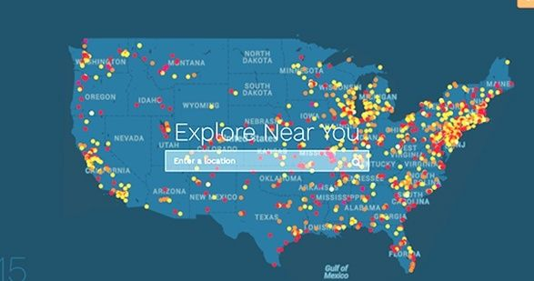More Than Superfund Sites Are Littered Across The US These - 1300 us map