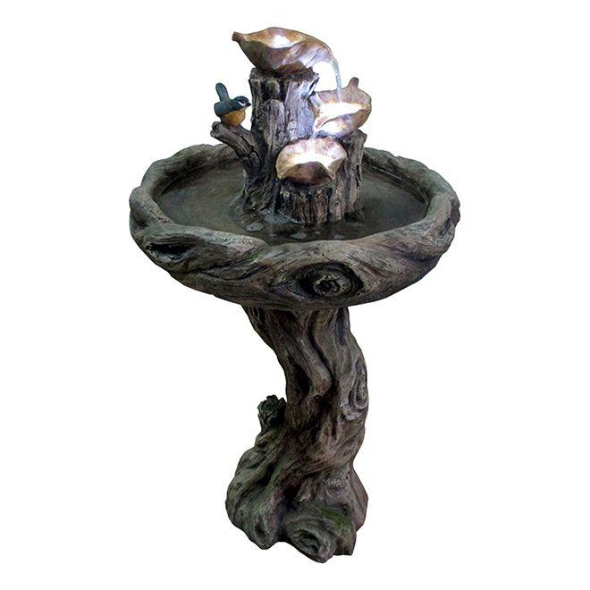 199$ Fontaine de jardin «Vinewood» RONA Fontaines Pinterest - fontaine a eau exterieur solaire