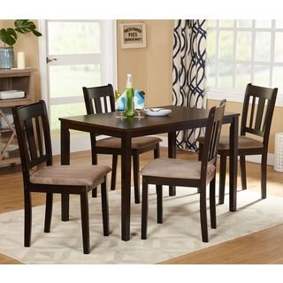 Shop For Simple Living Stratton 5Piece Dining Setget Free Stunning Dining Room Table Chairs Review