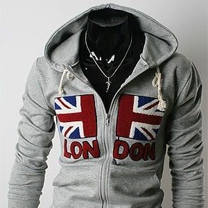 UNION JACK UK GREAT BRITAIN GB FLAG HOODIE SWEATSHIRT JUMPER ALL SIZES