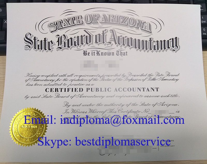 Arizona CPA certificate, buy fake CPA certificate, buy AICPA ...