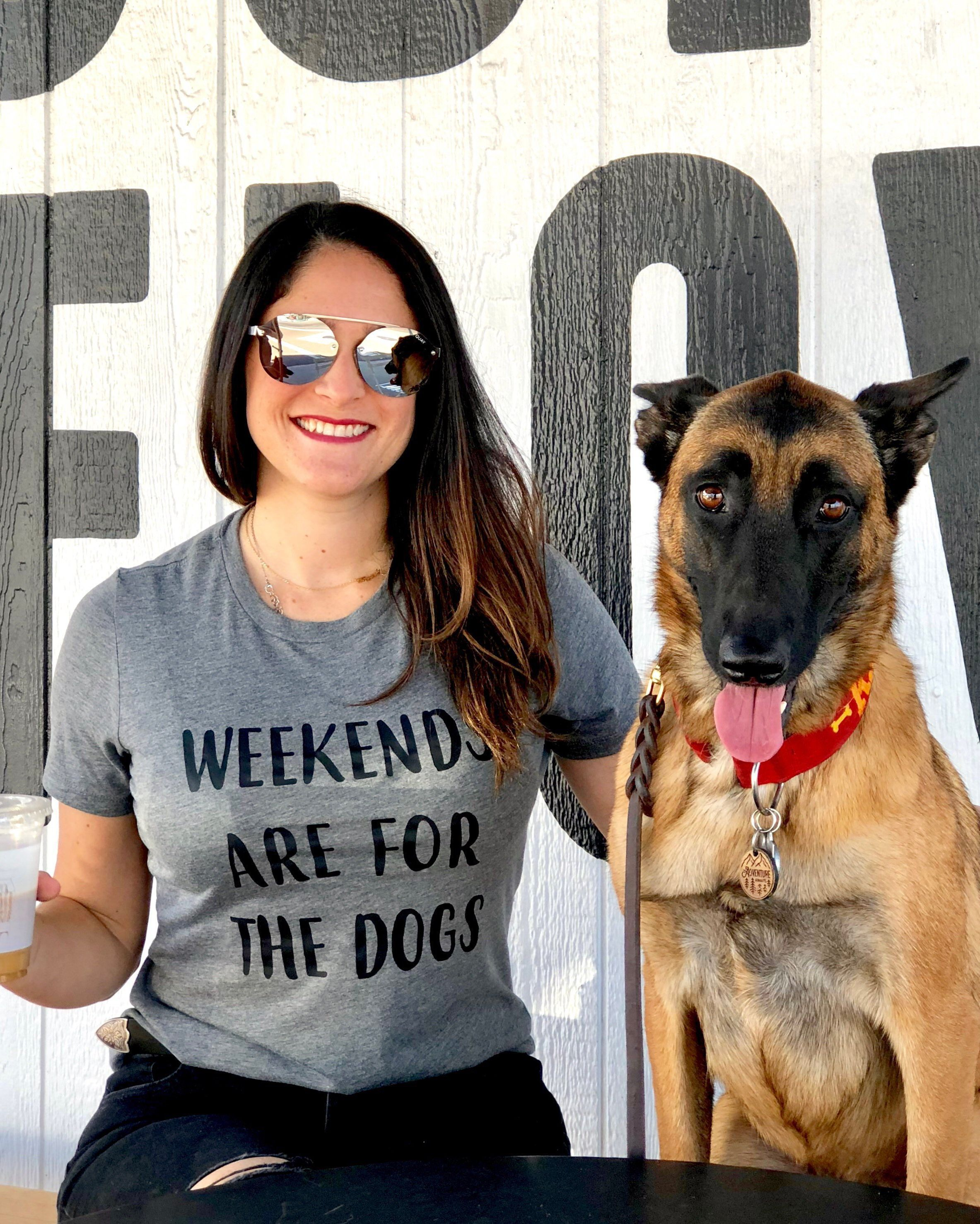 Weekends Are For The Dogs Dog Mama Shirt Dog Mom Gift Ideas For
