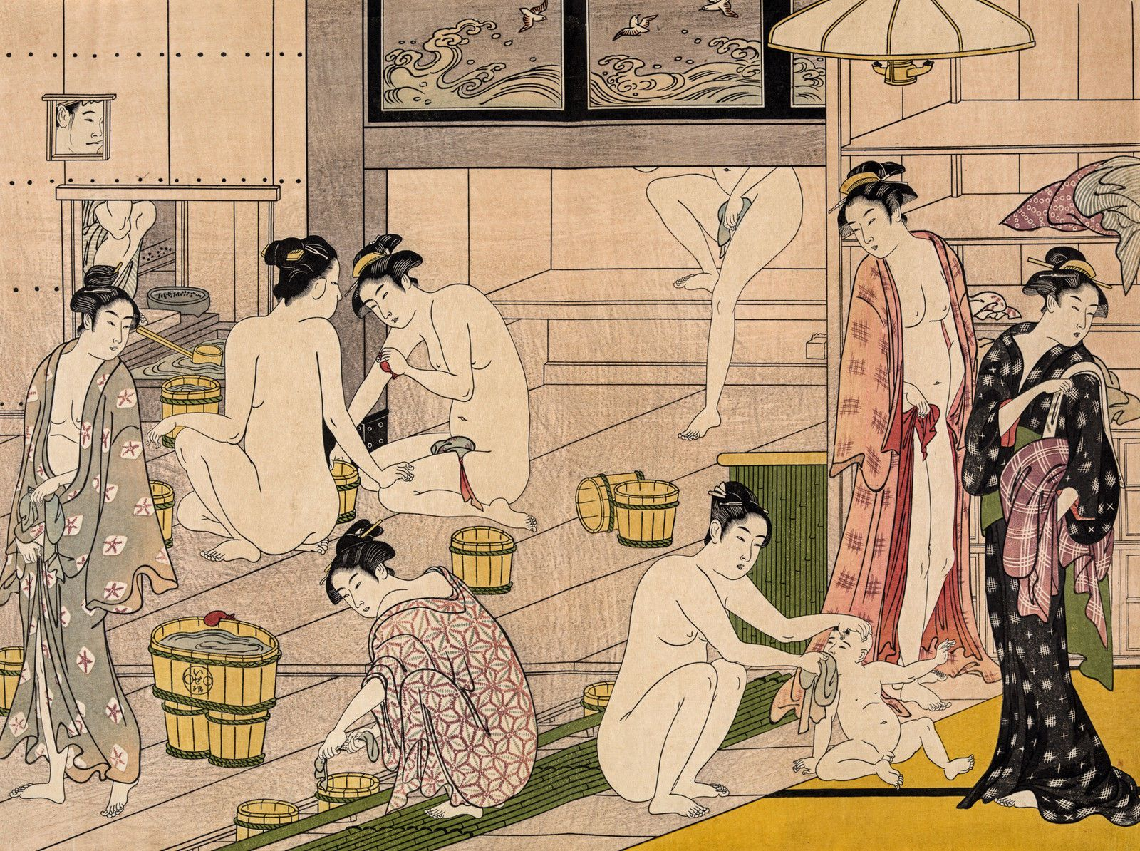 Erotic asian bathhouse