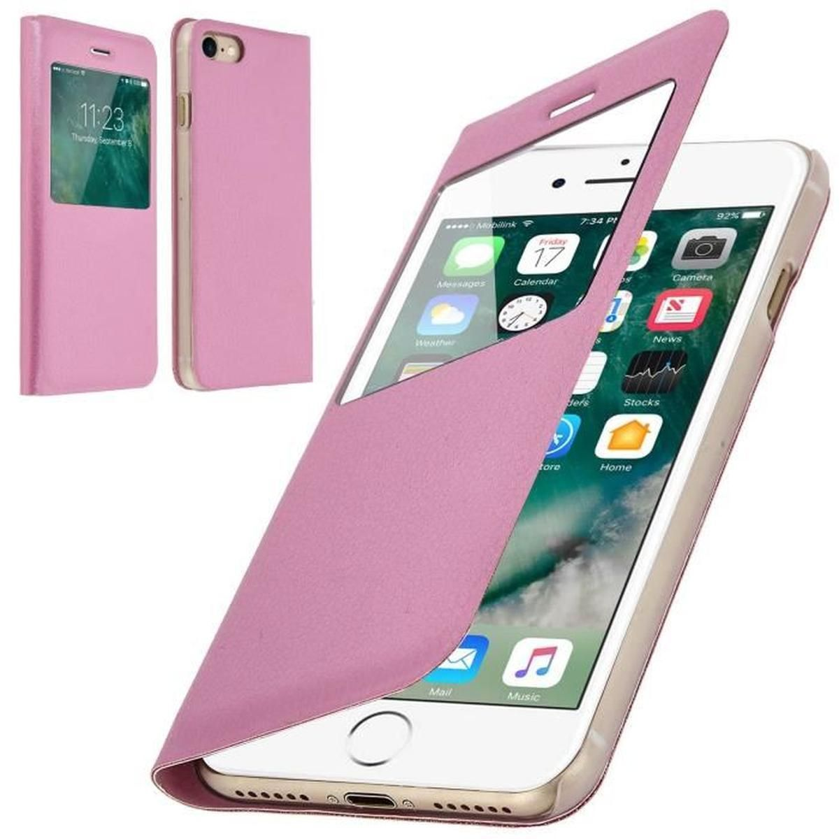 coque a clapet iphone 7 rose | Iphone 7, Iphone, Electronic products