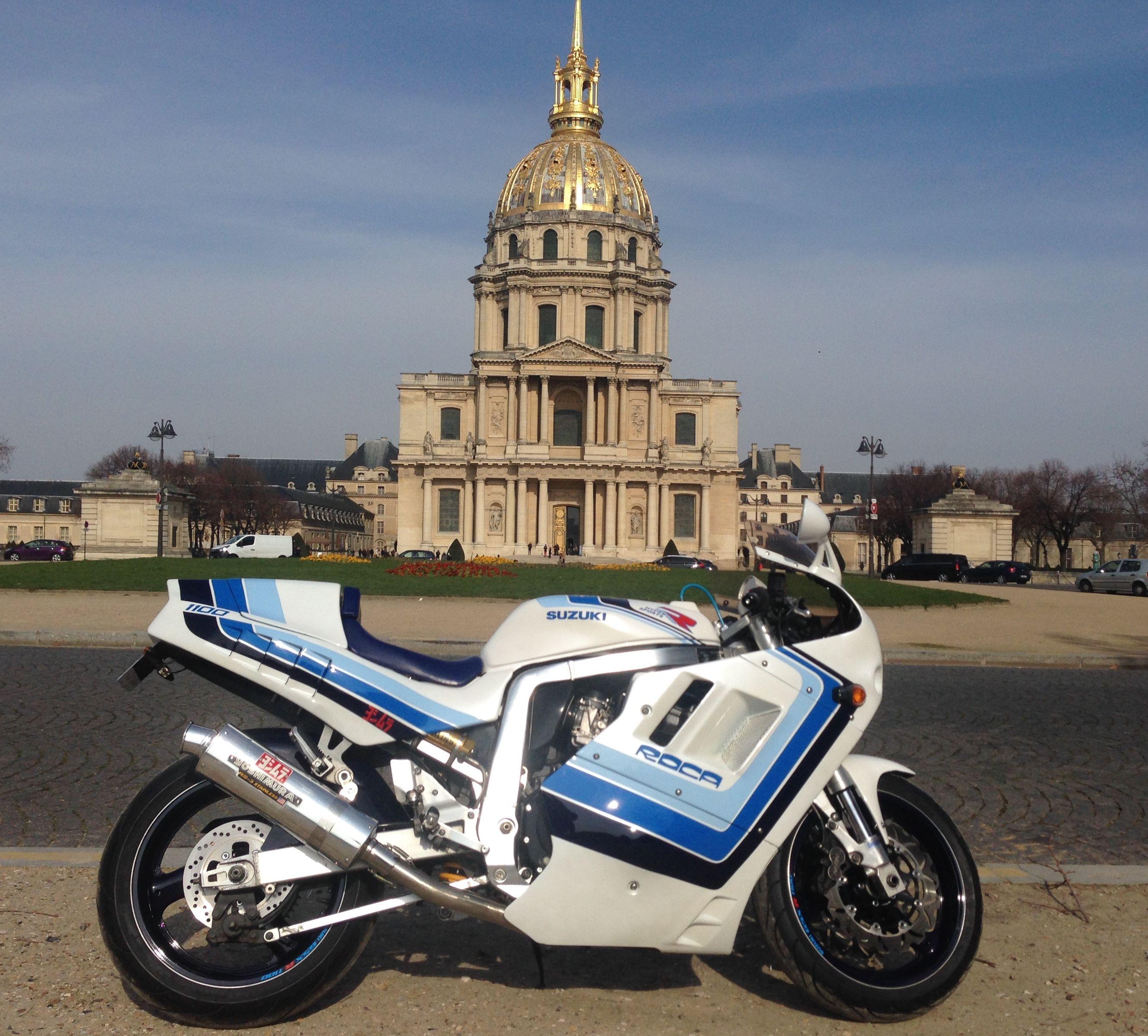 GSXR 1100 Roca by E Negroni | motorcycle | Suzuki bikes, Suzuki