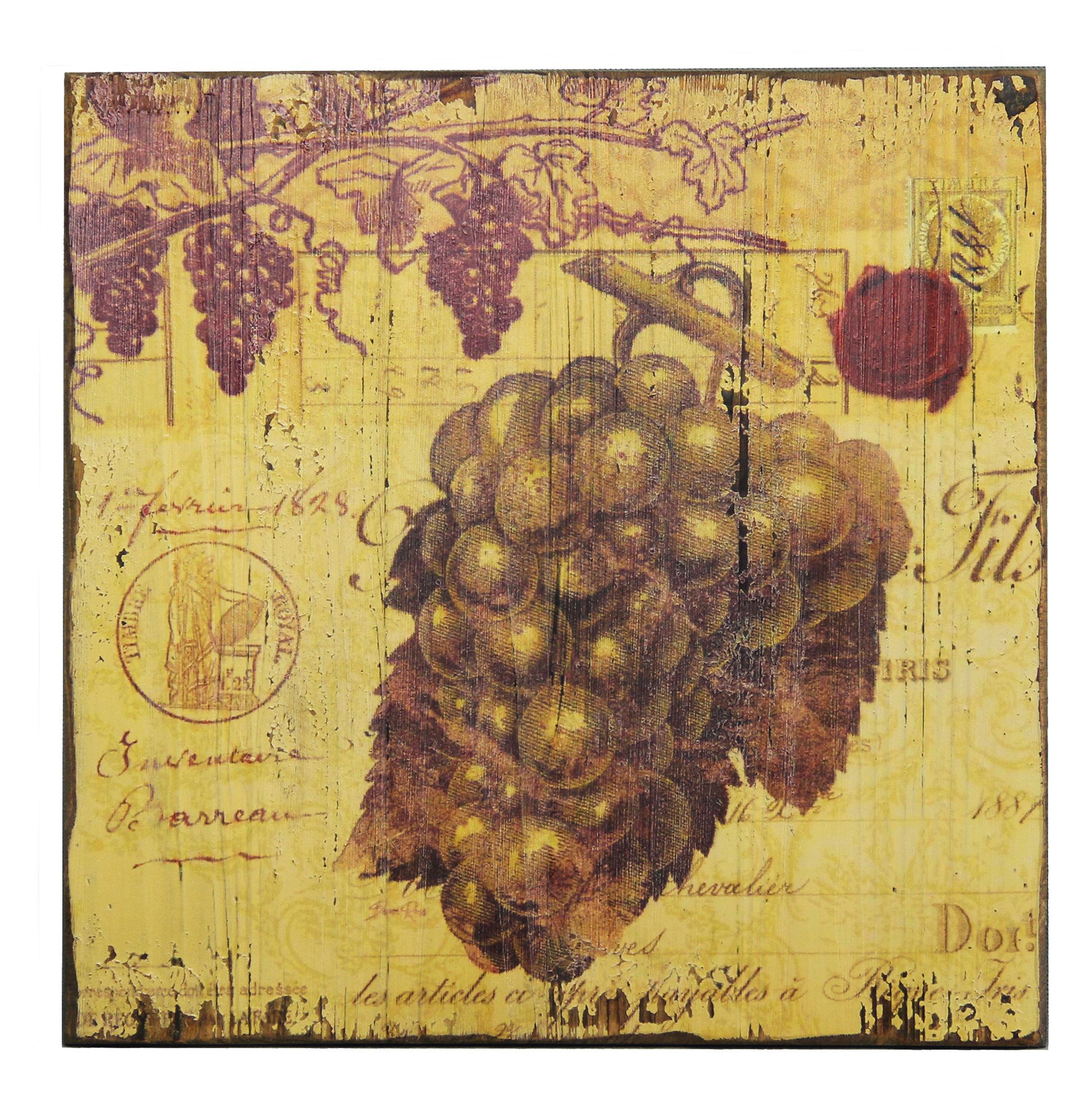 Vineyard Wall Decor Choice Image - home design wall stickers