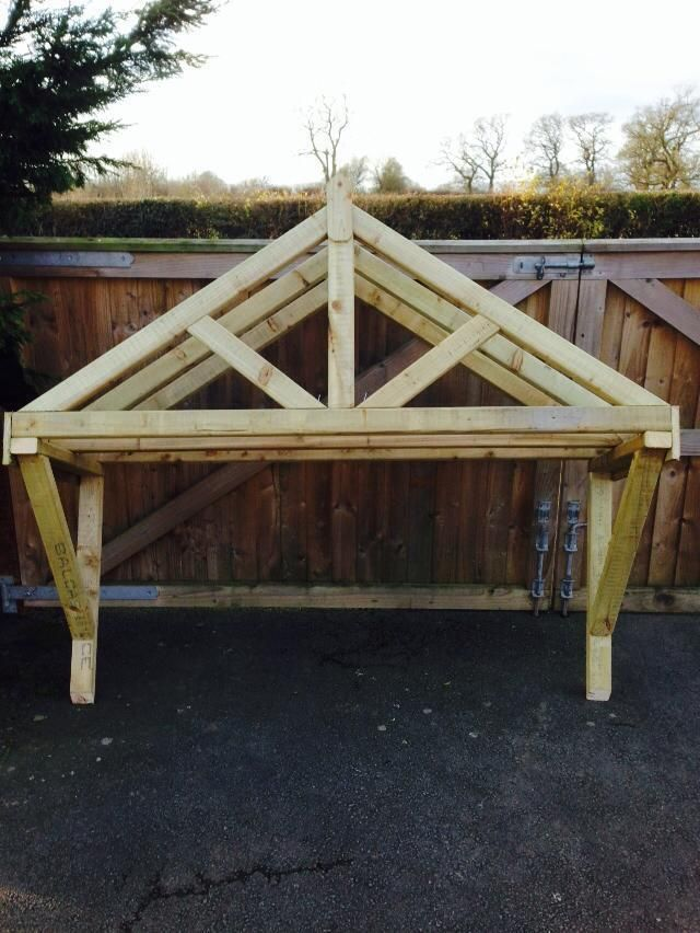 1200mm wooden canopy porch | eBay
