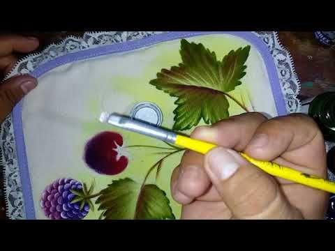 Pintando Zarzamora Con Alfre Severo Youtube Videos De Pintura Rosas Pintadas Flores Pintadas