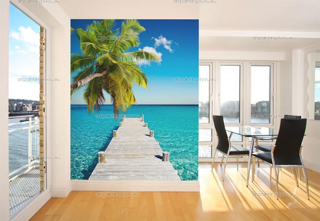 toile murale grand format gallery of decor de chambre. Black Bedroom Furniture Sets. Home Design Ideas