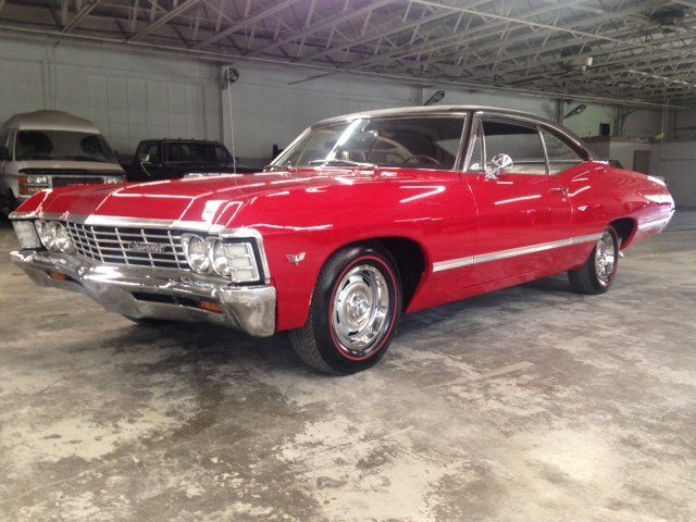 1967 Chevrolet Impala Coupe Offered For Auction 1851532