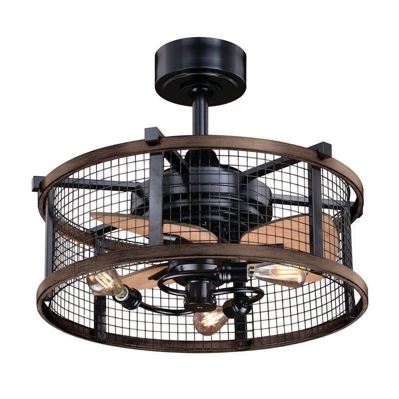 Carbon Loft Montrese 21 Inch Ceiling Fan Brown In 2019