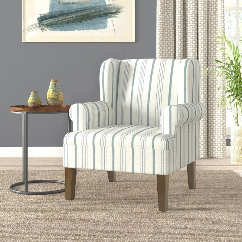 """London 31.5"""" W Wingback Chair Wingback chair, Accent"""