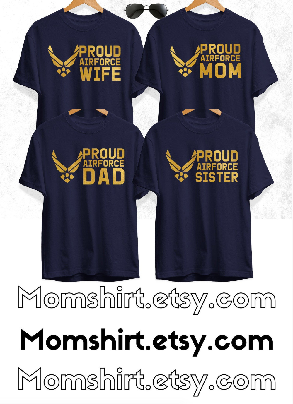 Proud Air Force Mom Shirts Air Force Graduation Shirts for