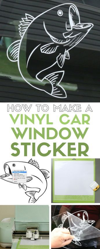 Learn how to make your own vinyl car window decal sticker with the cricut explore an easy diy craft tutorial idea that makes a great gift