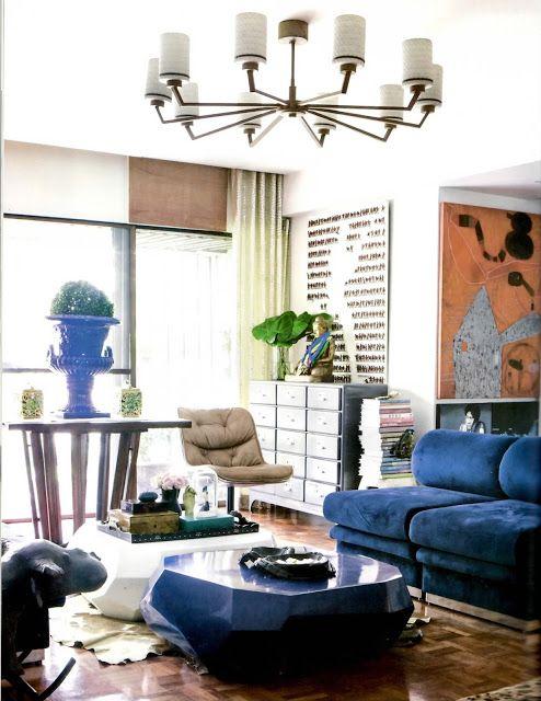 Pauline suaco juan   home elle decoration philippines also  blue at rh pinterest