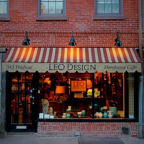 outdoor lighting ideas for storefront