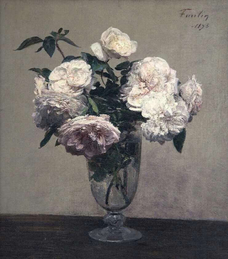"Henri Fantin-Latour ""Vase of Peonies"" 1875"
