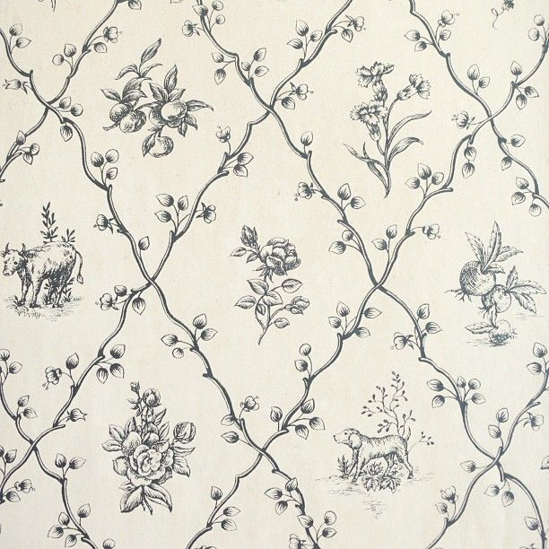 Vintage Country Wallpaper Patterns