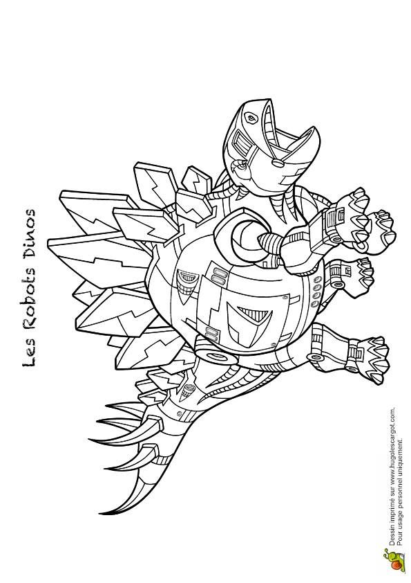 robot dinosaur printable coloring pages - photo#4