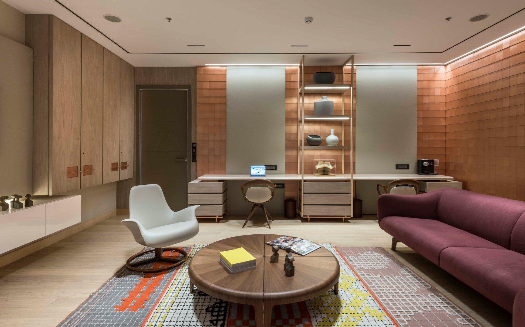 Subtle Yet Vibrant Office Design Vibrant Office Design Apartment Interior Design Interior Design Colleges
