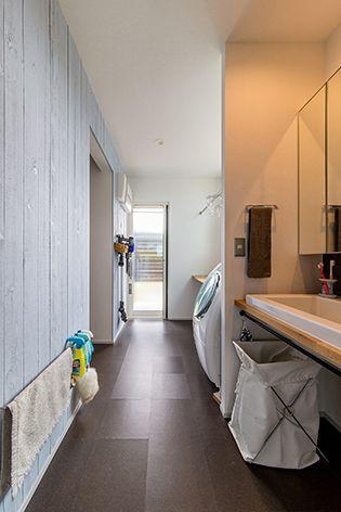 ウォークインクローゼットの位置 ウォークインクローゼット 間取り 模様替え 家 づくり