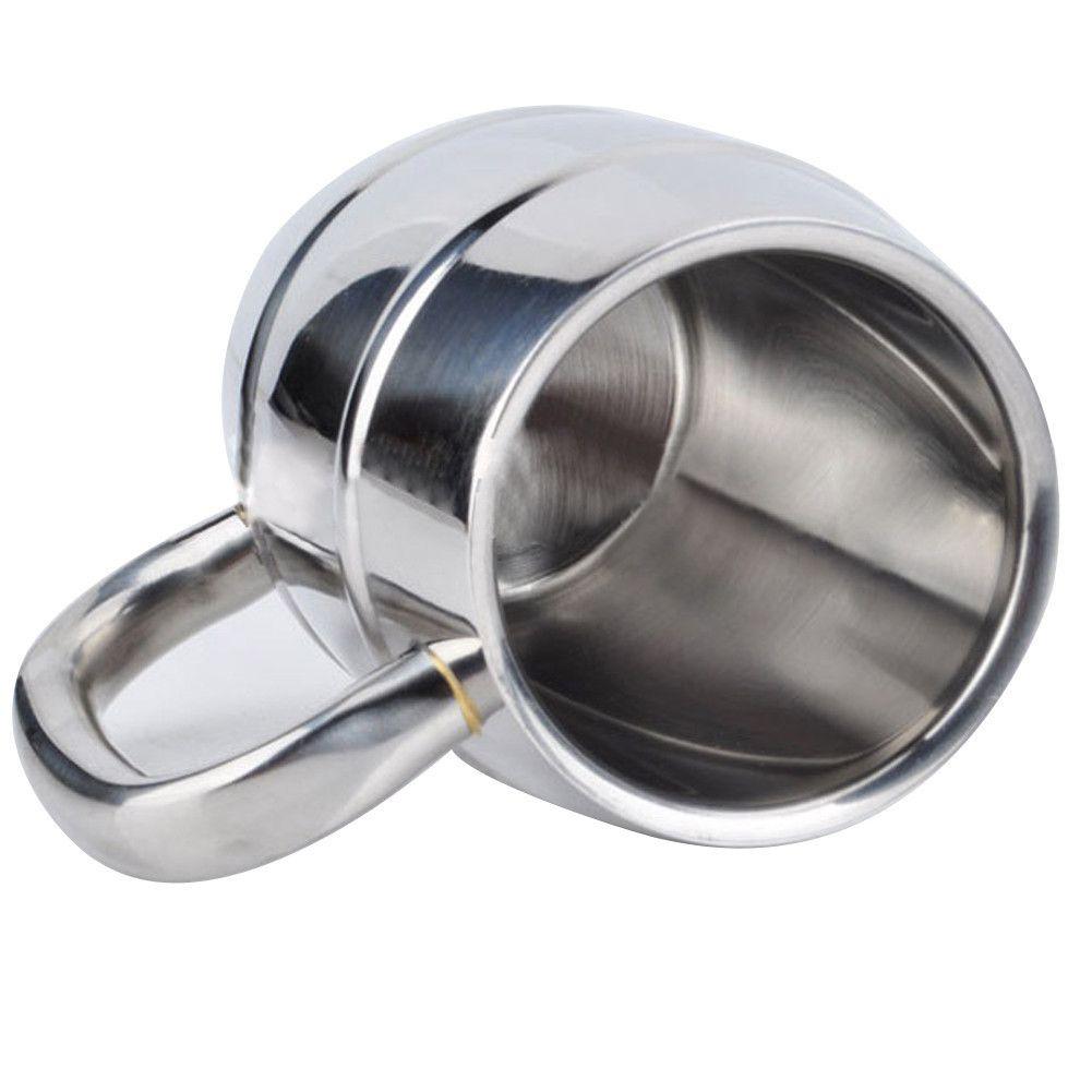 1pcs 350 550ml Double Walled Stainless Steel Mug insulated tumbler Coffee Mug Beer Cup Water Mug. Click visit to buy #Mug