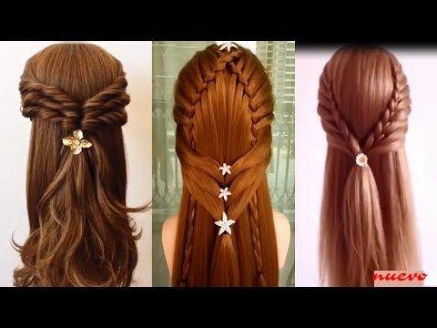 Youtube Peinados Poco Cabello Peinados Peinados Faciles Pelo Corto