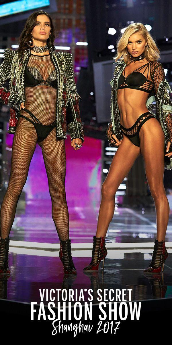 35e7ec07 Sara Sampaio & Elsa Hosk in the VS x Balmain collection. Select stores &  online.   2017 Victoria's Secret Fashion Show
