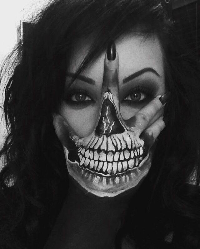 Maori Tattoos Skull Face Tattoo