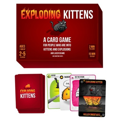 Exploding Kittens Card Games Exploding Kittens Card Game Card