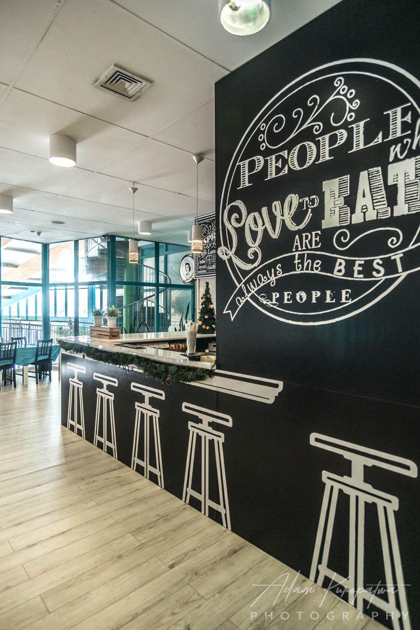 Restaurant And Cafe Design In Tarnowskie Gory Poland In Swimming Pool Cafe Design Restaurant Design Restaurant